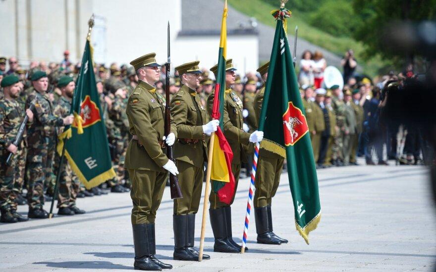 ФОТО: в Вильнюсе отметили столетие Союза стрелков Литвы
