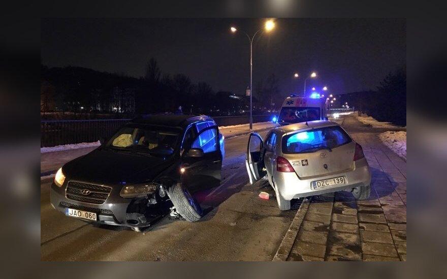 В Вильнюсе произошло ДТП с участием нетрезвого водителя