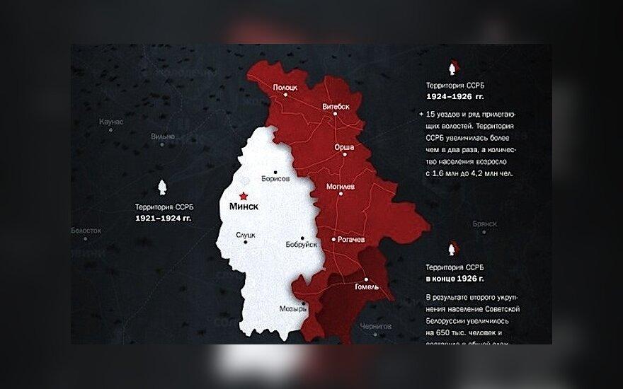 СМИ: русские националисты ставят под сомнение целостность Беларуси