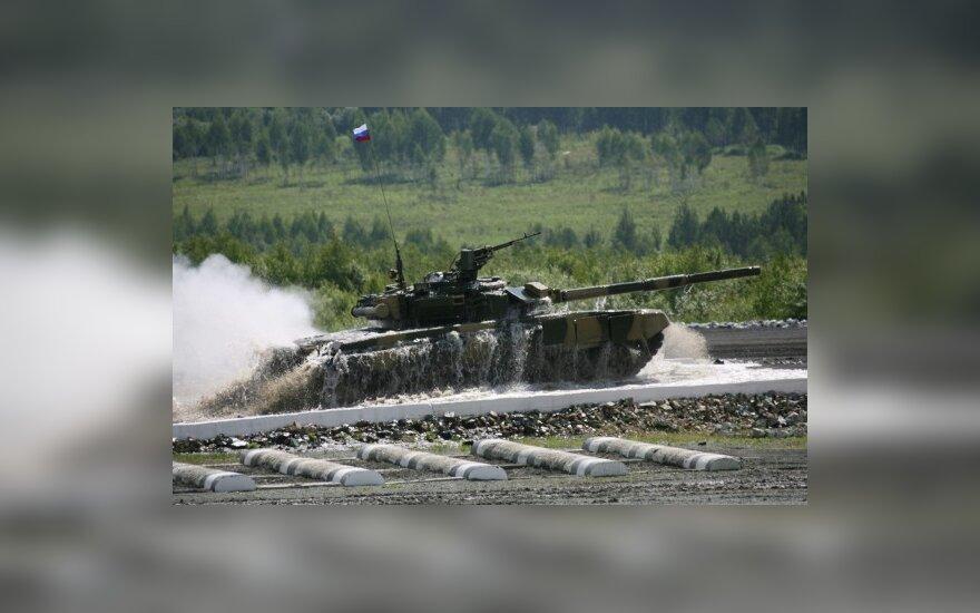 Rusiškas tankas