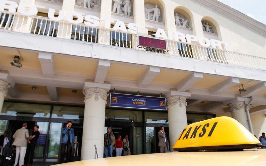 В Вильнюсском аэропорту клиентов такси ждут новшества