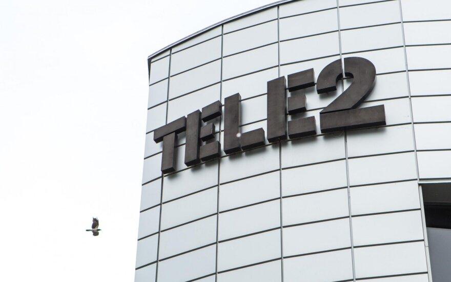 Выручка Tele2 в этом году выросла на 7% до 120 млн евро