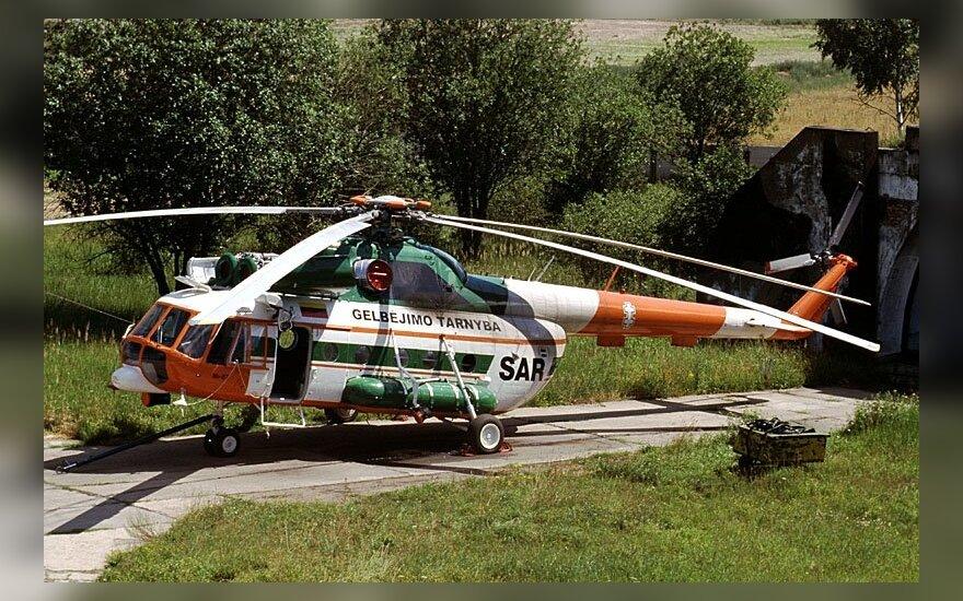 """Tokie """"MI-8"""" sraigtasparniai persikels į Dariaus ir Girėno aerodromą"""