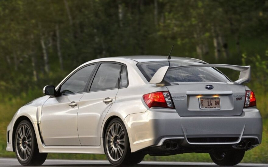 """""""Заряженные"""" Subaru WRX STI останутся верны турбо-моторам"""