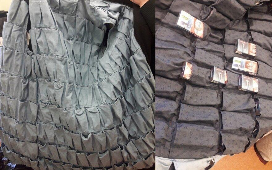 Находчивость не знает границ: гражданин России пошил для контрабанды специальные куртки