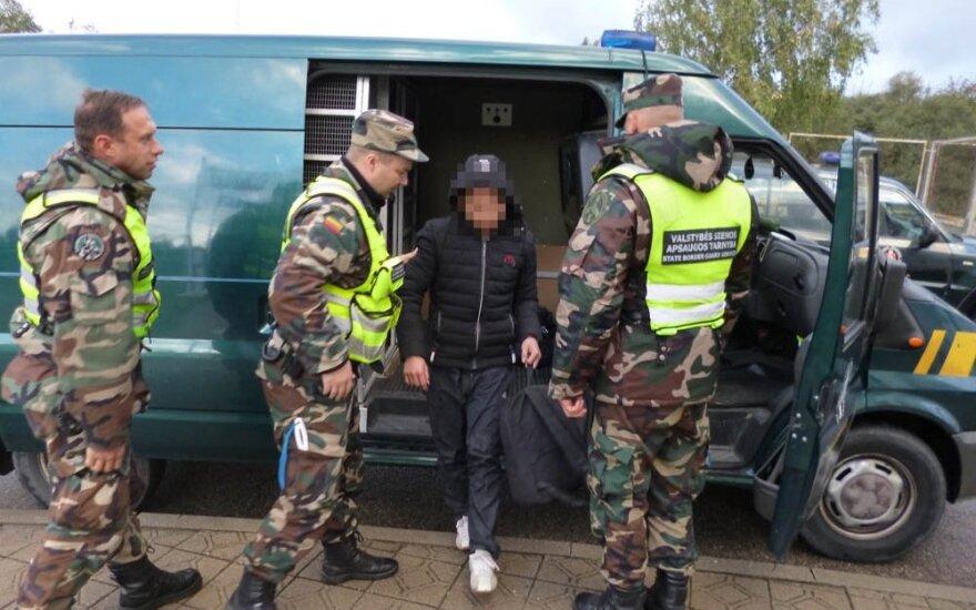 В Девянишкес пограничники задержали группу нелегалов