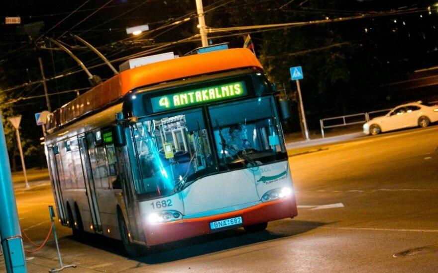 Как в праздники в Вильнюсе будет курсировать общественный транспорт