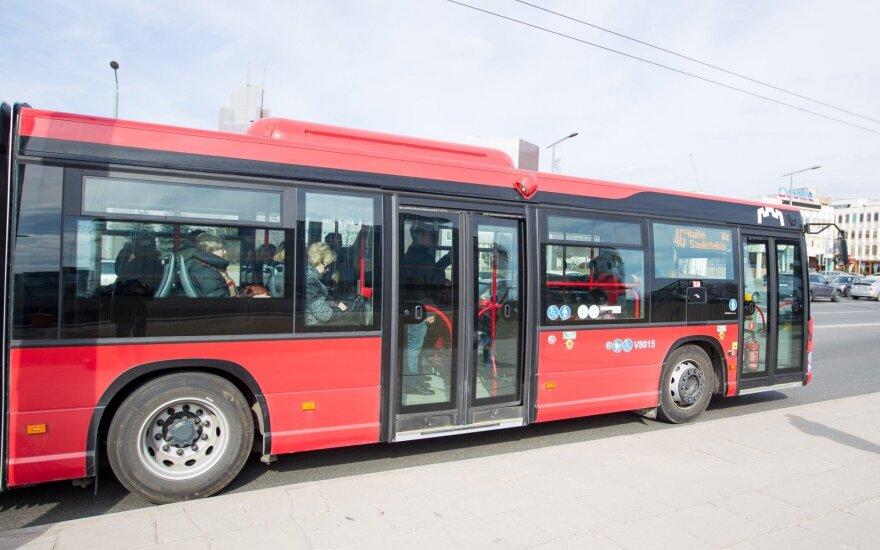 16 февраля общественный транспорт в Вильнюсе будет бесплатным