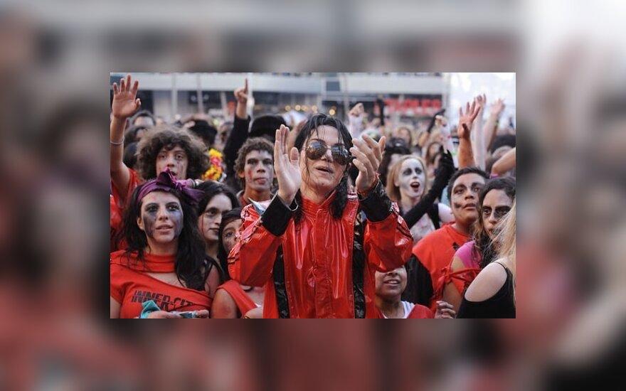 Мир станцевал под Thriller Майкла Джексона