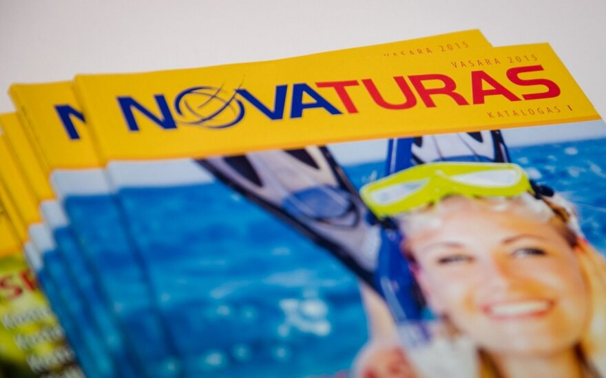 Оборот туроператора Novaturas в прошлом году сократился до 180 млн евро