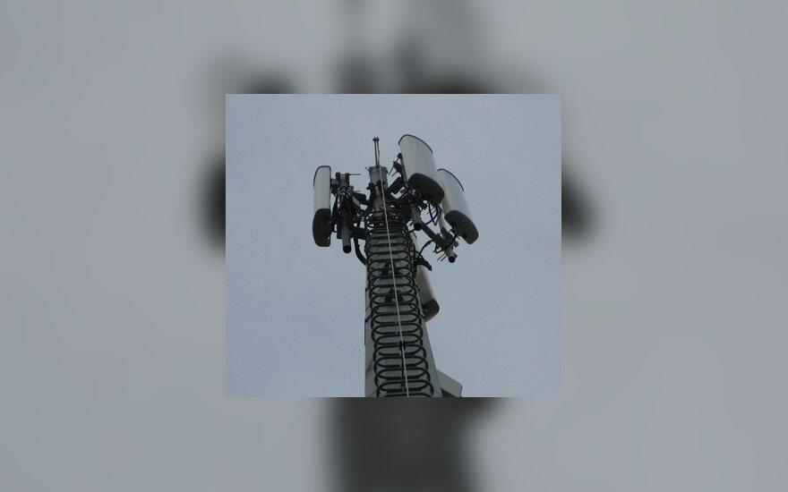 Telekomunikacijos, mobilusis ryšys, antenos.