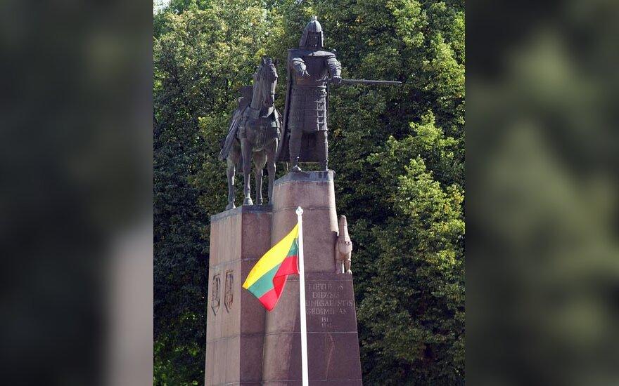 Paminklas Gediminui Vilniaus Katedros aikštėje