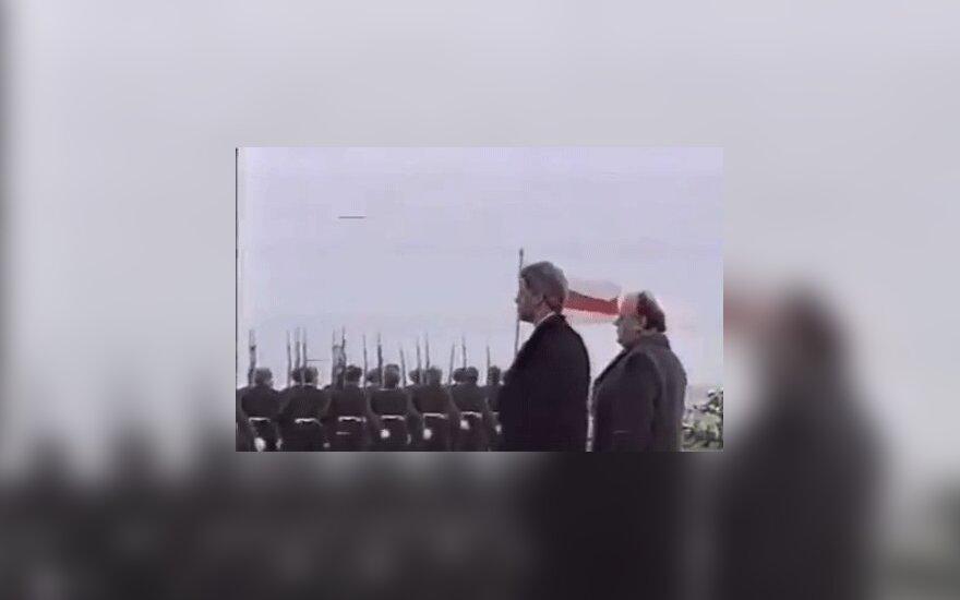 23 года назад президент США Клинтон посетил Беларусь