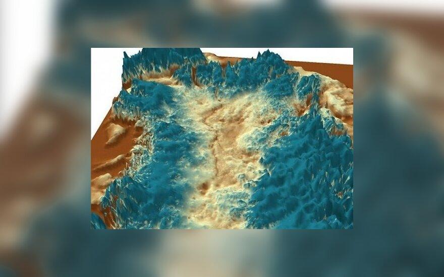 Найден ранее неизвестный каньон длиной 750 километров