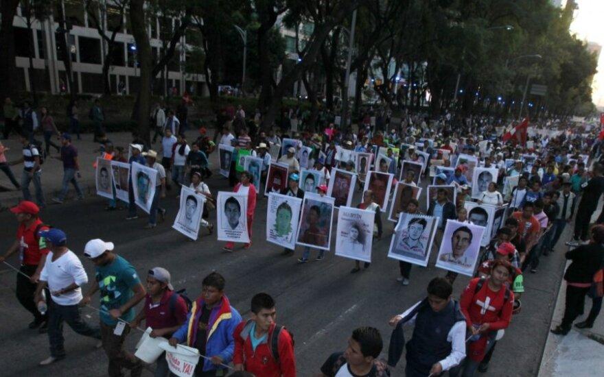 Protestai Meksikoje