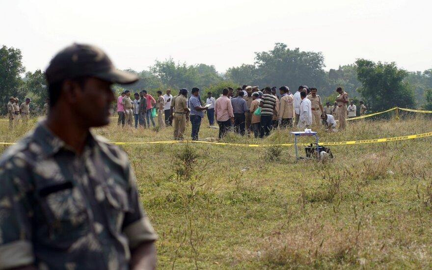 Indijos policija nukovė keturis prievartautojus-žudikus