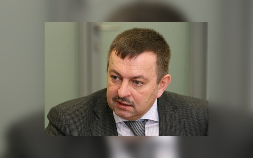 В.Навицкасу вручены регалии мэра Вильнюса