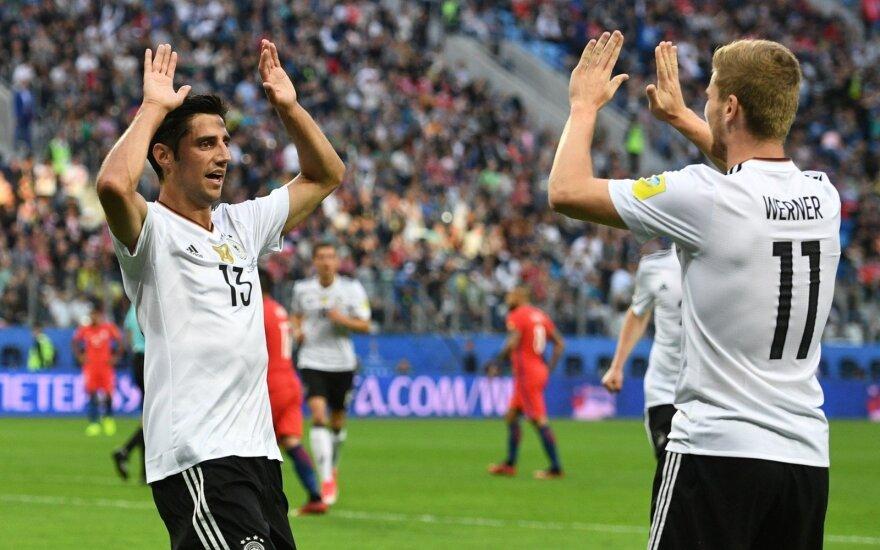 Сборная Германии по футболу — обладатель Кубка конфедераций-2017