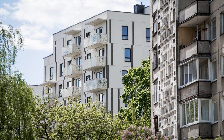 Опрос: более половины жителей Литвы убеждены, что жилье будет дорожать