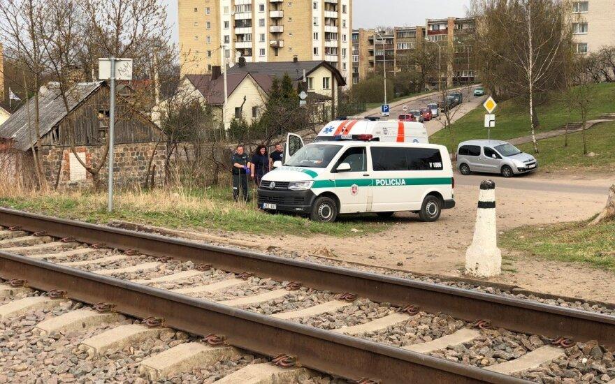 В Вильнюсе поезд насмерть сбил юношу