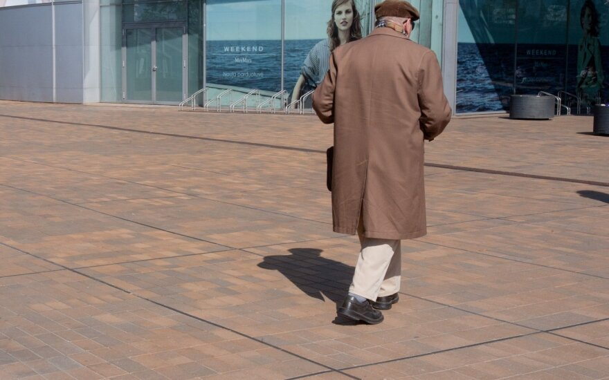 Неприглядная статистика: каждый 7 житель Литвы рассчитывает только на пенсионное пособие
