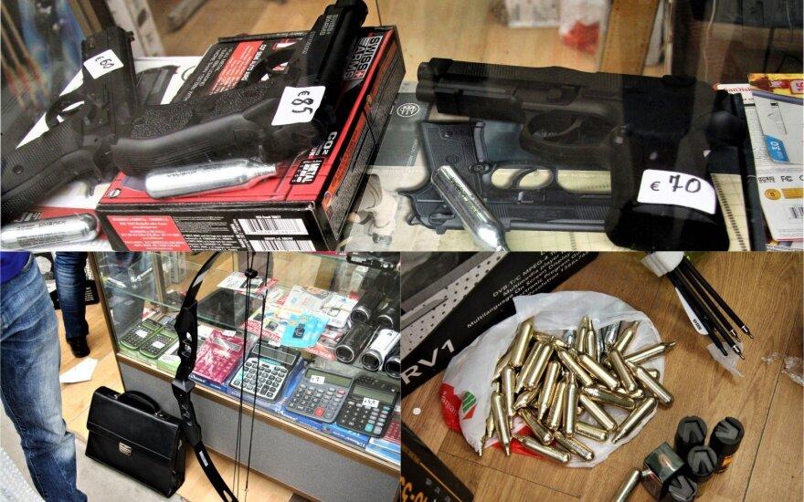 Мужчина нелегально продавал в Гарюнай оружие