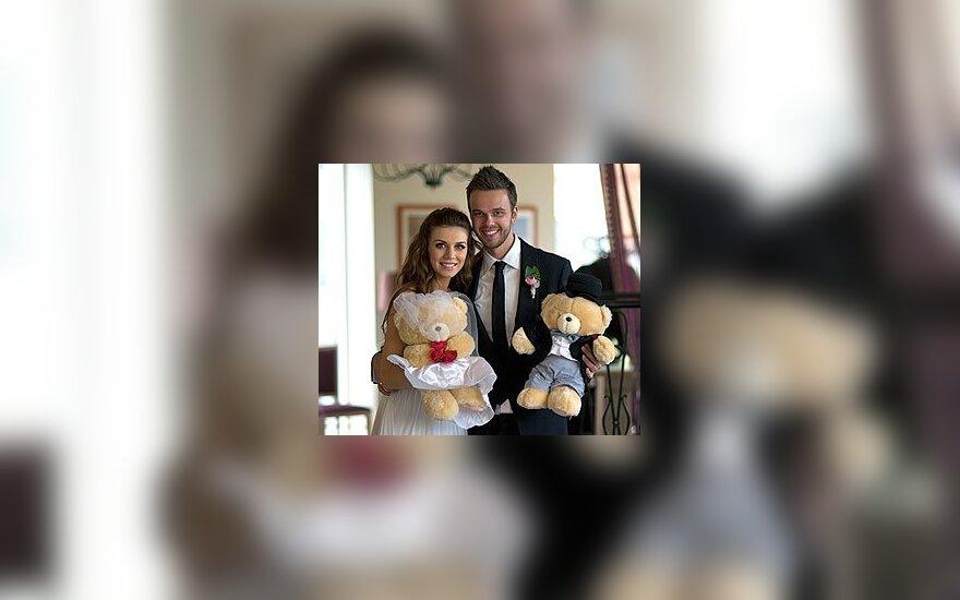 Анна Седокова с супругом Максимом. Фото: из личного архива певицы