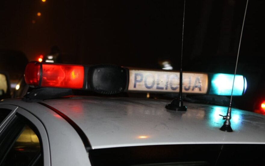Полиция задержала на проспекте Гедиминаса пьяного сотрудника Департамента тюрем
