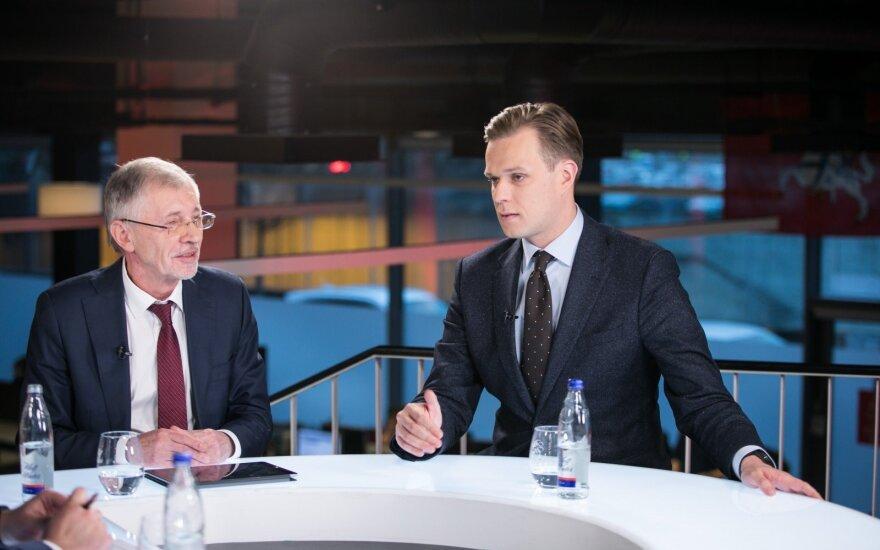 Gediminas Kirkilas, Gabrielius Landsbergis