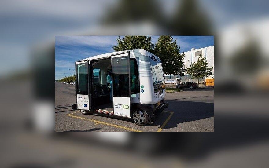 В Таллине появятся автобусы с автопилотами