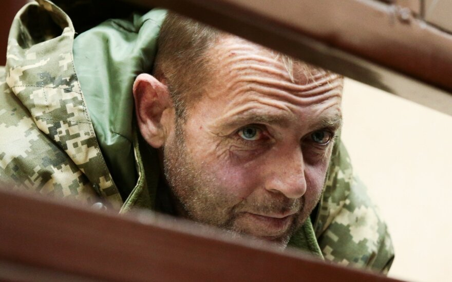 Suimtas Ukrainos jūreivis Jurijus Budzylo