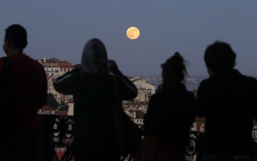 """""""Кровавая Луна"""": прямая трансляция полного лунного затмения"""