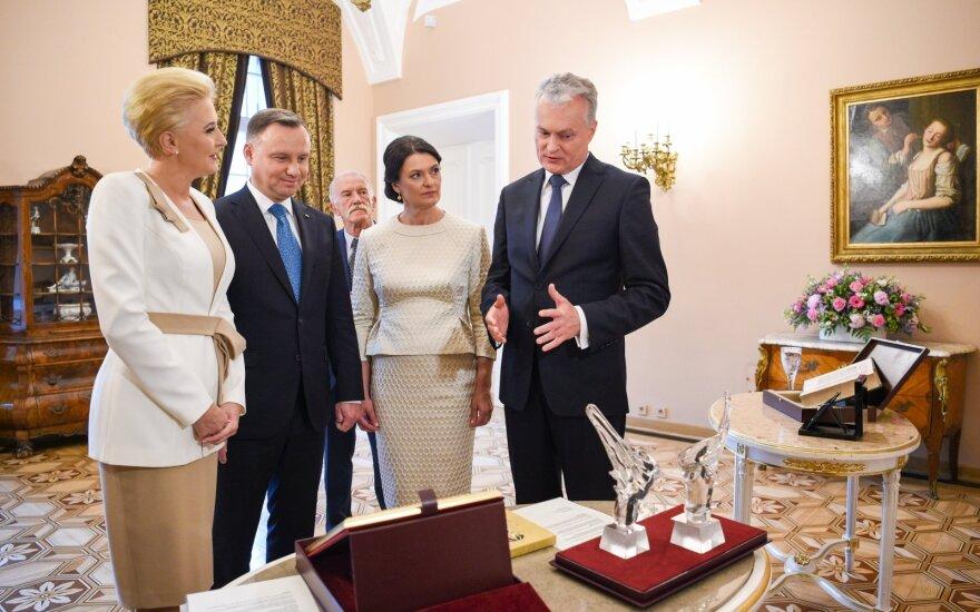 Гитанас Науседа приглашает польский банк в Литву