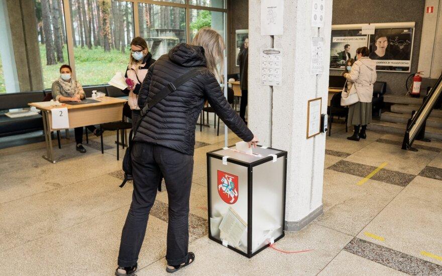 В Литве завершается досрочное голосование на парламентских выборах