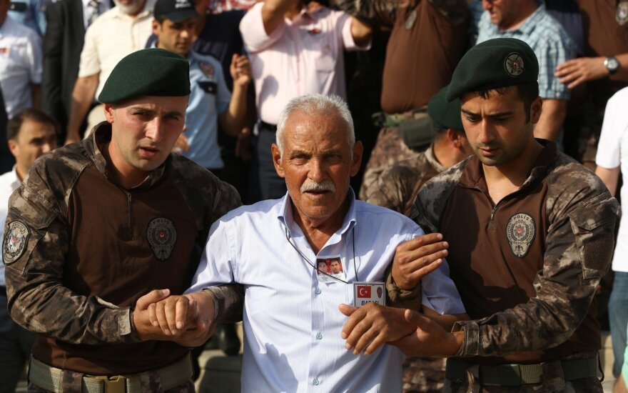 Suėmimai Turkijoje