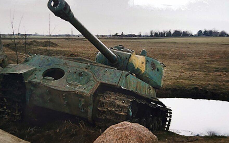 В Литве решают вопрос танка из Салантай: выяснили, что он может выстрелить
