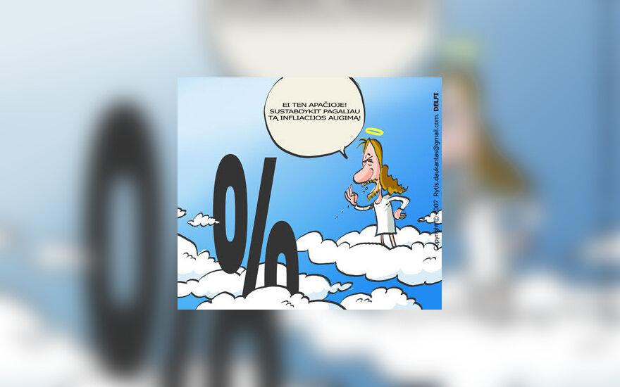 Infliacija, karikatūra