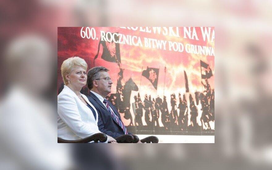 Президент: залог будущих побед Литвы и Польши – единство