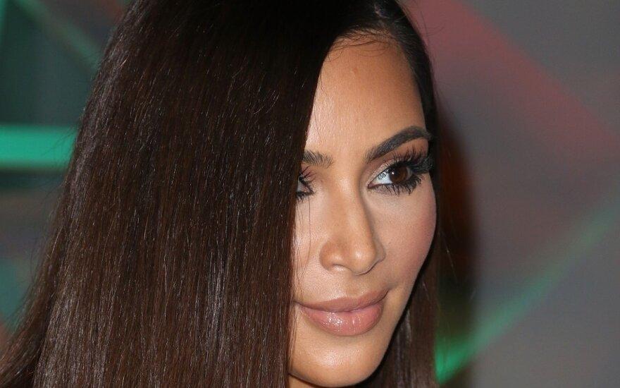 СМИ: Ким Кардашьян отметила День благодарения без Канье Уэста