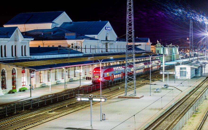 В поездах Вильнюс-Каунас можно бесплатно пользоваться интернетом