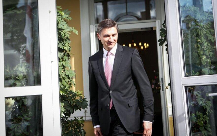 Неверович обсудил с главой МАГАТЭ проекты Литвы