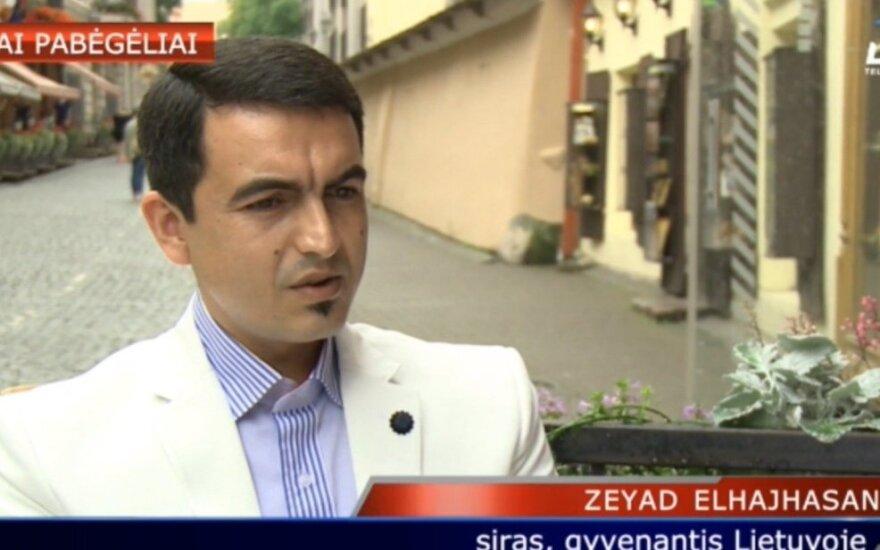 Lietuvoje gyvenantis siras Zeyadas Elhajhasanas