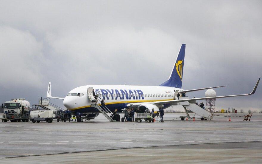 Ryanair будет совершать полеты из Вильнюса в Нюрнберг и Кёльн