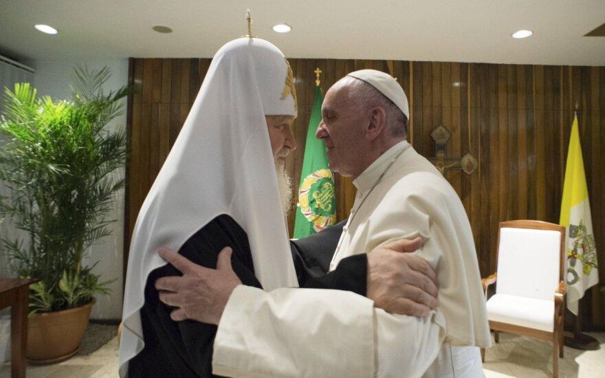 Popiežius Pranciškus, patriarchas Kirilas