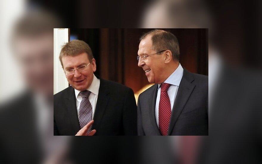 Лавров отказался обсуждать c Ринкевичем критерии снятия санкций