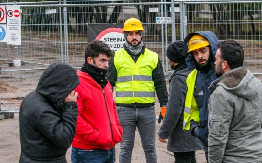 Įtampa už milijonus rekonstruojamo Kauno stadiono statybų aikštelėje: turkai atsisako dirbti