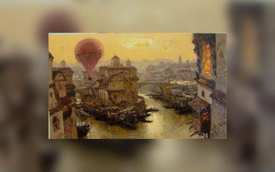 В Вильнюсе - выставка Юрия Григоровича