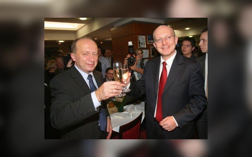 Andrius Kubilius, Arūnas Valinskas