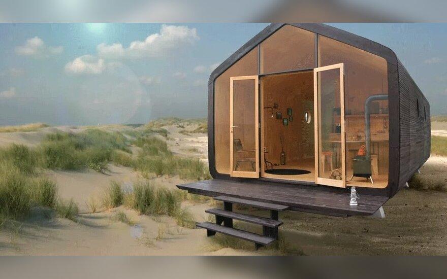 В Финляндии наладили производство картонных домов за 35 000 евро
