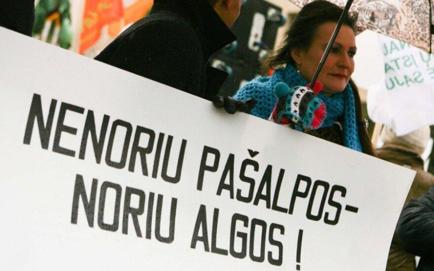 Опрос: жители назвали самую большую в Литве проблему